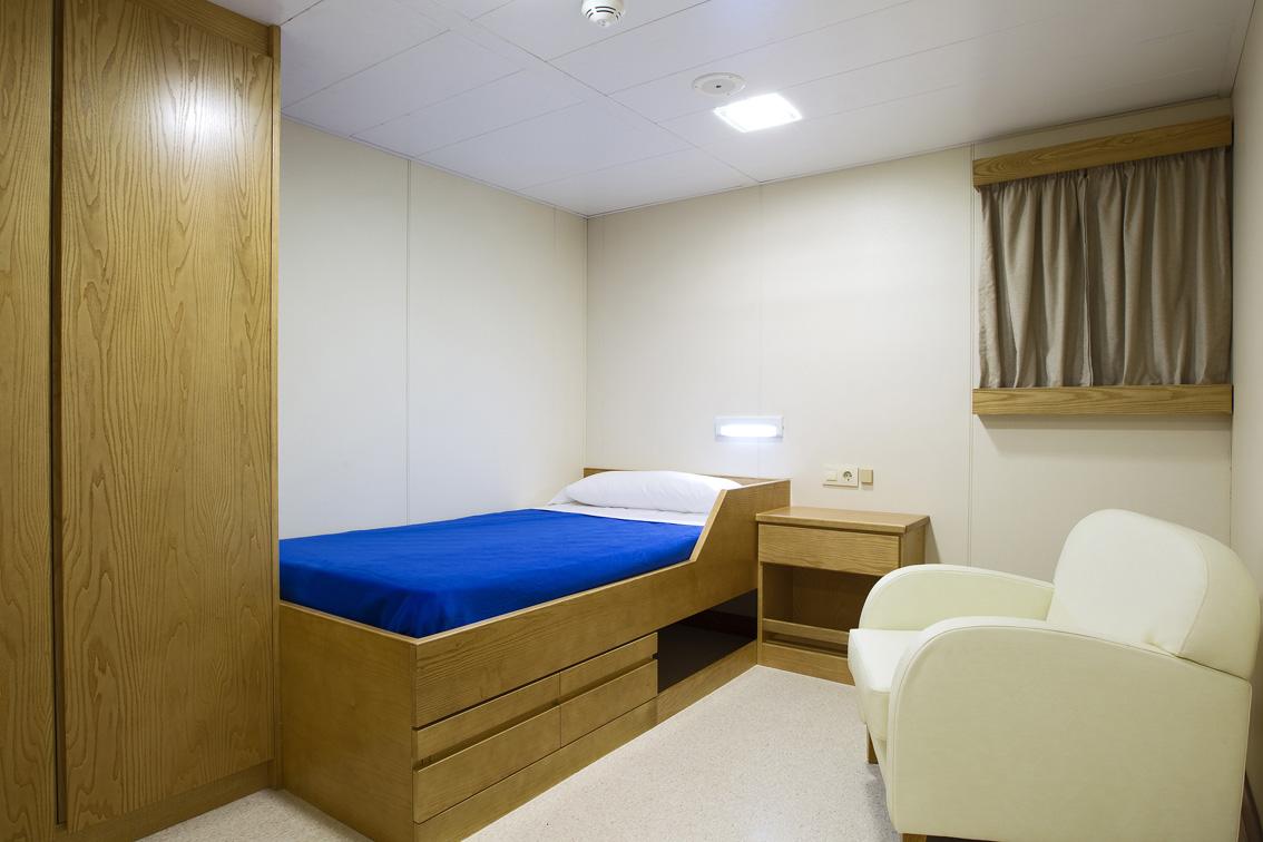 Panelship ship cabin